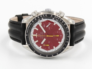 Omega Speedmaster Reduced Ref.175.0032 Automatico Collezione Schumacher Bordeaux
